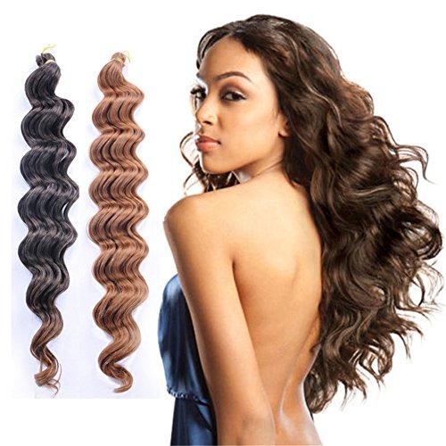 Remeehi Haarverlängerung, 46 cm, 27# (Zöpfe Göttin 3)
