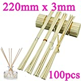 REED DIFFUSER REPLACEMENT STICKS 100pcs Rattan Stikcs Aromatic Sticks Rattan Sticks Reed Diffuser Sticks