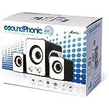 Advance SOUNDPHONIC 2.0 Stereo Multimedia System Computer Lautsprecher weiß - gut und günstig