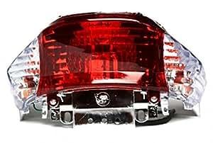 Feu arrière, spot arrière clair pour China Roller 4 temps, Baotian, Benzhou, Rex RS450, MKS