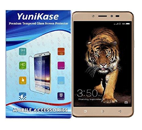 Yunikase Coolpad NOTE 5 Premium Mobile Display Tempered Glass screen Protector - (Transparent)