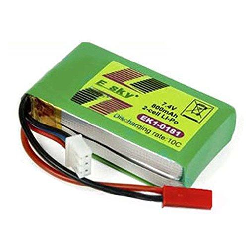 batterie-dorigine-ek1-0181-74-v-800-mah-pour-helicoptere-esky-lama-v3-v4-comanche-king-of-bird-kob-h