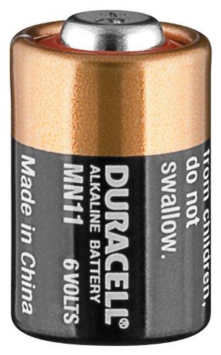 Lot de 4 piles Duracell Pile alcaline MN 11 LR 11