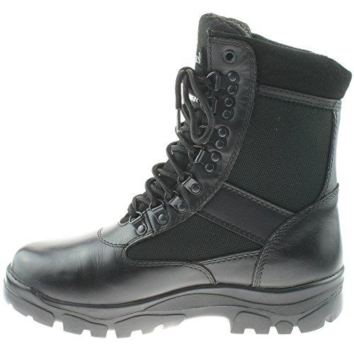 Cadet Force Bottes/bottes Cadet/ATC/Ccf/G Force Militaire Bottes/, Noir, 49 EU noir