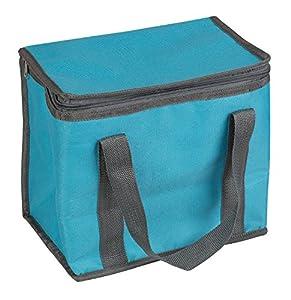 Idena 38198-Bolsa Nevera, 10L, 26x 17x 24cm, Color Azul