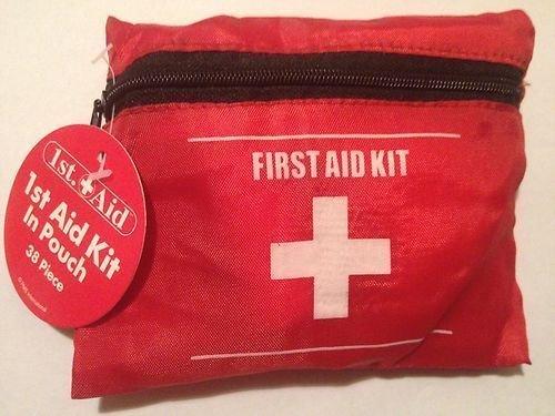 Globatek 38 Piece Pc First Aid Kit For Travel Home Car Emergency Car-travel-kit