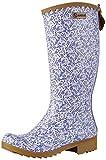 Aigle Victorine Gummistiefel, Damen Langschaft Gummistiefel, Mehrfarbig (blossom/iris D), 39 EU