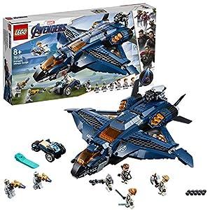 LEGO SuperHeroes Marvel L'UltimateQuinjetdegliAvengers, Playset Ispirato ai Supereroi conle Minifigure di BlackWidow,Hawkeye,RocketeThor, 76126 LEGO