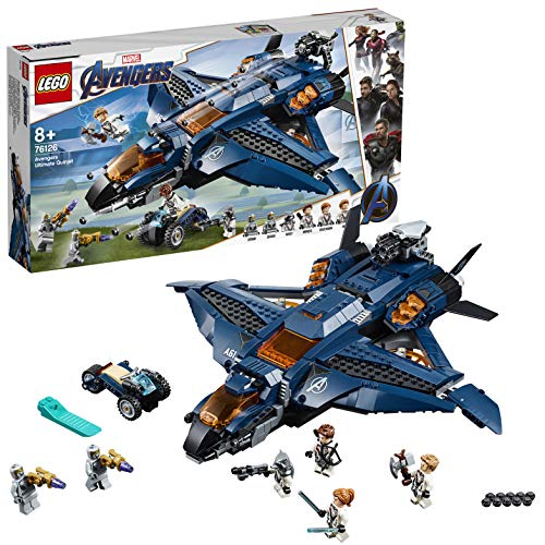 (LEGO 76126 - Marvel Super Heroes Ultimativer Avengers-Quinjet)