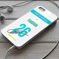 Coque foot football Florian THAUVIN Autographe - OM Olympique de Marseille pour iPhone X 8 8+ 7 7+ 6S 6 6S+ 6+ 5 5S 5SE 4S 4
