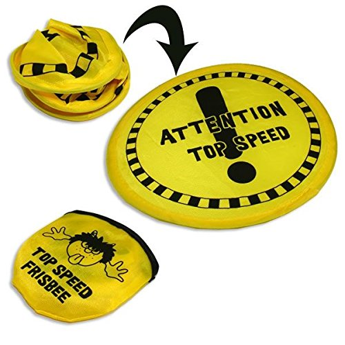 Preisvergleich Produktbild Faltbares Frisbee, 20cm, im Täschchen, Wurfscheibe Super Speed