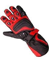Juicy Trendz New Men's Cowhide Leather Motorbike Motorcycle Biker Gloves
