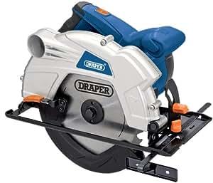 Draper 76217 185 mm 230-Volt 1,300-Watt Circular Saw with Laser Guide