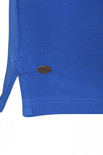 Herren Tokyo Laundry Mora Cove Polohemd Designer Kragen Piquet T-shirt Top Ozeanblau