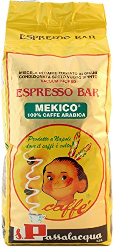 CAFFÈ PASSALACQUA MEKICO - ESPRESSO BAR - PACCO 1Kg IN GRANI