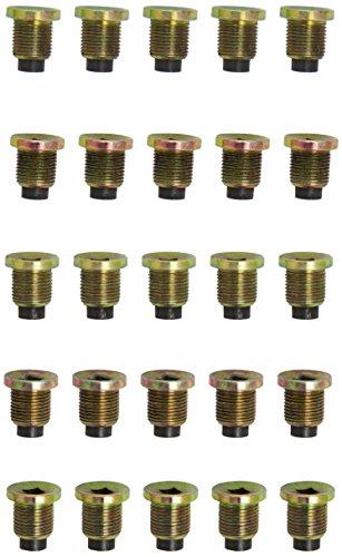 KS tools ölablassschraube innen4kant, 8 mm m18 x 1,5 x 22 mm-pack de 25 pièces, 430.2161