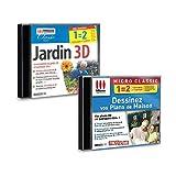 Pack 2 logiciels Jardin 3D et Dessinez vos Plans de maison - PC...