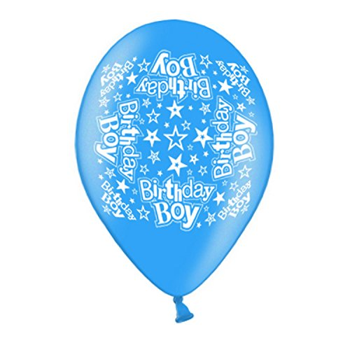 Simon Elvin - Ballons Birthday Boy/Girl (25 cm) (Taille unique) (Birthday Boy)