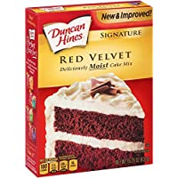 Duncan Hines Moist Deluxe Red Velvet Cake Mix 468g