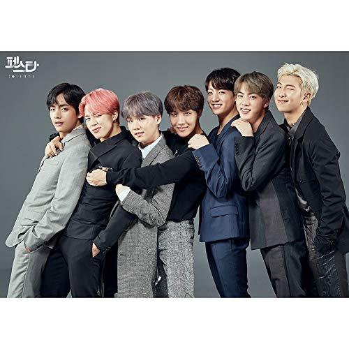Yuhiugre 2019 BTS Nuevo álbum El sexto conjunto póster