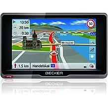 Becker ready.5 CE Navigationsgerät (12,7 cm (5 Zoll) Bildschirm, 20 Länder vorinstalliert, Lebenslange Kartenupdates, TMC, inkl. MagClick Aktivhalter, SituationScan)