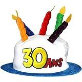 Chapeau Age 30 adulte - Taille Unique