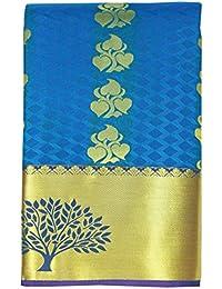 Saravanabava Silks - Kanchipuram Silks Sarees ( Mixed Pattu Tree Bordr Embossed Body Traditional SRBS03111 )