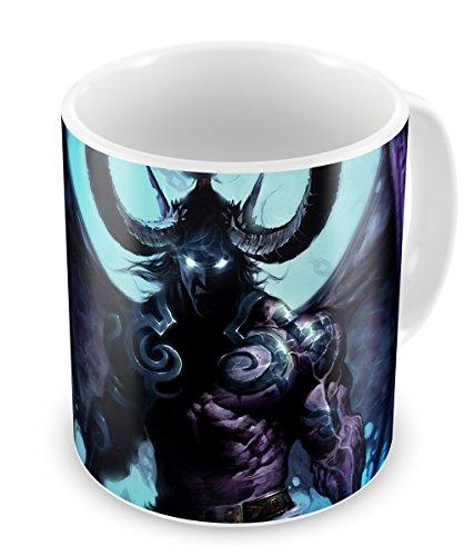Instabuy Mug Illidan Stormrage World of Warcraft - Wow Fanart Kaffeetassen - Cup (B) Wow Mug