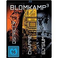 Chappie / District 9 / Elysium - Blomkamp³ - Limited Edition Steelbook [Blu-ray]