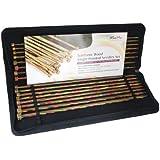KnitPro 35 cm Symfonie Single Pointed Needle Set, Multi-Color