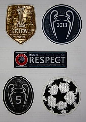 FC Bayern Munchen set of 5: Uefa Respect, Champions League