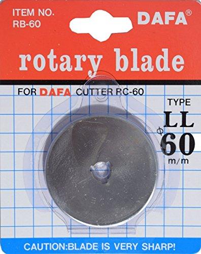 Simplicity 00SSN60BLADE Ersatzklinge für Rollschneider, silber