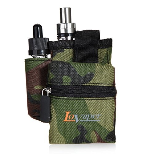 LoVaper® Camo Vape Carry Storage Bag for Electronic Cigarette Box Mod | RDA | Vape pen | Eliquid | Thank and all Accessories