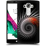 Official Sven Fauth Titan Silver Helix Hard Back Case for LG G4 / H815 / H810