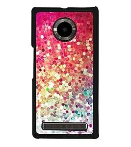Multi Colour Pattern 2D Hard Polycarbonate Designer Back Case Cover for YU Yuphoria :: YU Yuphoria YU5010