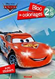 Cars 2 - Bloc de coloriages avec stickers...