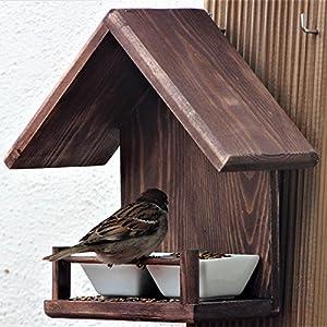 Vogelfutterstation 'Huis'