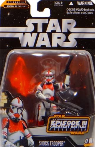 Shock Trooper épisode III Greatest Battles – – – Star Wars The Saga Collection 2006 de Hasbro | Conception Moderne  797bd0