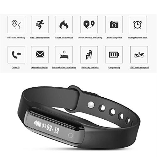 Bracelet-Connect-LESHP-Sport-Intelligent-Etanche-IP65-Bluetooth-Frquence-cardiaque-Podomtre-positionnement-Distance-Calories-Moniteur-de-sommeil-pour-iPhone-IOS-Android
