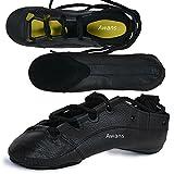 Awans Irish Dancing Pumps, Mädchen Tanzschuhe Schwarz schwarz UK 12 Klein KinderS Gr. UK 4 ÄLTER, schwarz