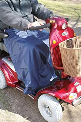 Simplantex Universal Thermal Scooter Leg Cape/Cover - Waterproof & Fleece Lined