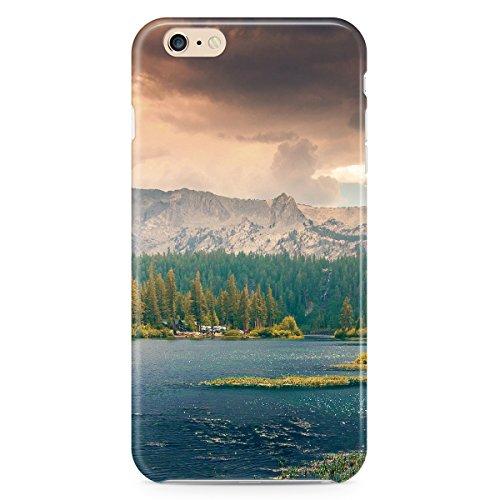 Parc national de Montagnes Apple iPhone 6Plus 5S 5C 54iPod et plus, plastique, bleu, Apple iPod Touch 5