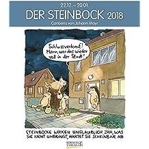 Steinbock 2018: Sternzeichen-Cartoonkalender