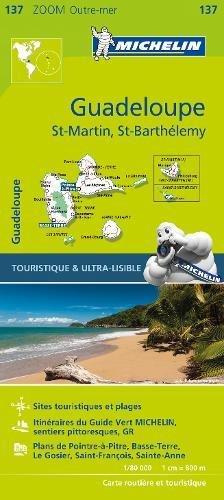 Guadeloupe, Saint Martin, Saint Barthélémy : 1/80 000