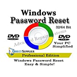 Computer Password Reset Reset-CD für Windows XP, Vista, 7, 8, 8.1 und Windows 10 (alle Versionen von Windows)