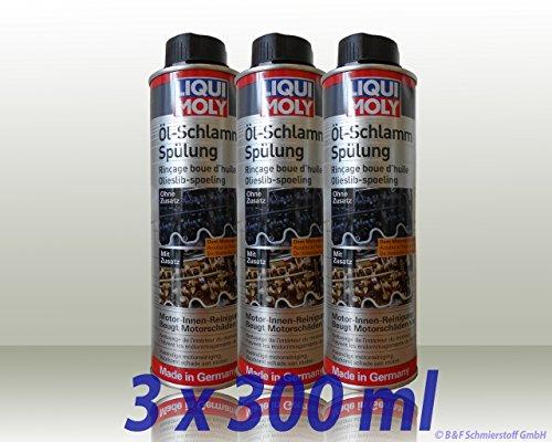 3x LIQUI MOLY 5200 Öl-Schlamm-Spülung MotorReiniger Motorspülung 300ml