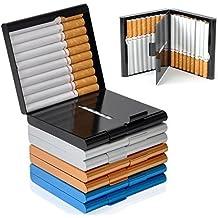 Zigarettenetui Lagerung für 20 Zigaretten Halter Zigarettenschachtel zigarettenhülle zigarettendose Double Sided Flip Open Pocket-Zigarettenetui Storage Container Geschenke