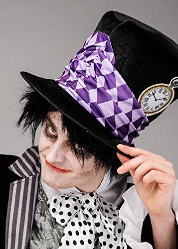 chwarz Hutmacher Hut (Man In Box Halloween Kostüm)