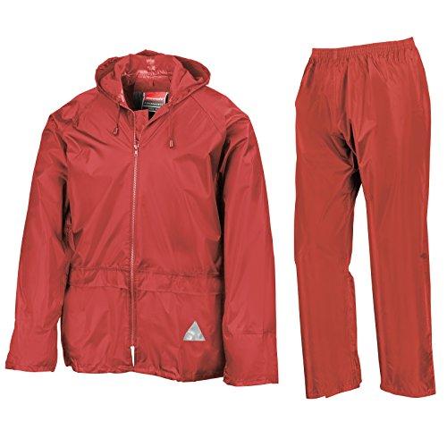 Result Damen Jacke Rot