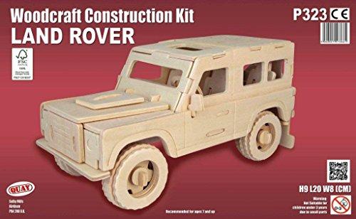 Quay Land Rover Woodcraft Construction Kit FSC
